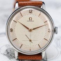"Omega 2319 /4 ""JUMBO"" 37MM | CAL 265 | 1947 | Vintage Steel Watch"