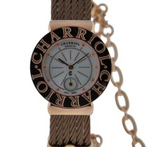 Charriol St. Tropez Ladies Stainless Steel Gold Tone Case...