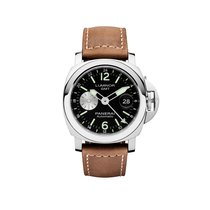 Panerai Luminor GMT Automatic Acciaio  Mens Watch PAM01088