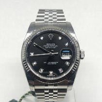 Rolex Datejust 36 Black Diamonds
