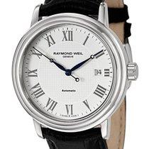 Raymond Weil Maestro Automatic Steel Mens Strap Watch Calendar...