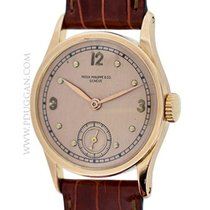 Patek Phillippe vintage 1950's 18k rose gold Calatrava