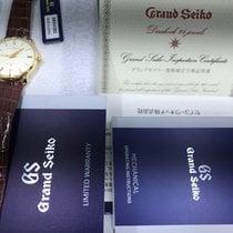 Seiko Oro amarillo Cuerda manual Blanco nuevo Grand Seiko