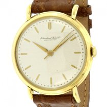 IWC Yellow gold 37mm Manual winding IWC pre-owned