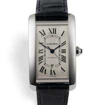 Cartier Tank Américaine pre-owned 31.5mm White gold