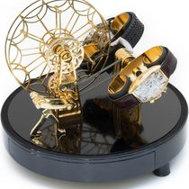 Kunstwinder KW Ferris Wheel Gold for 2 automatic timepieces