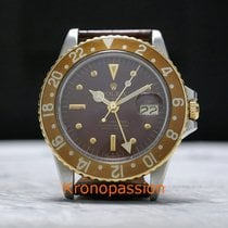 Rolex Chronometer 40mm Automatic 1972 pre-owned GMT-Master Brown