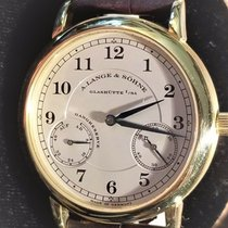 A. Lange & Söhne Yellow gold Manual winding Gold 36mm pre-owned 1815