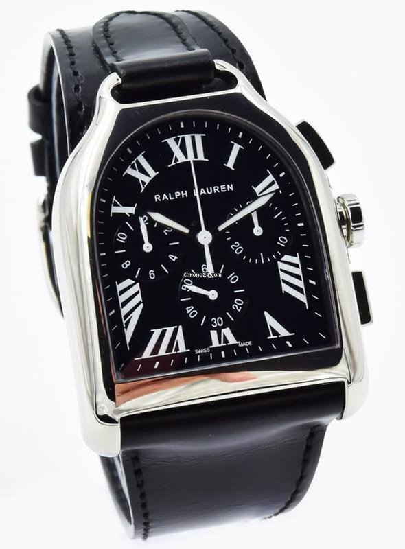 c39d5ef2cdf8 Ralph Lauren Large Stirrup Chronograph - RLR0030700 - 36.6mm x... for   8,550 for sale from a Trusted Seller on Chrono24