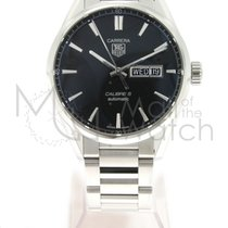 TAG Heuer WAR201A.BA0723 Steel Carrera Calibre 5 41mm new
