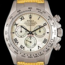 Rolex Daytona White gold 40mm Mother of pearl Roman numerals