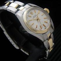 Rolex Oyster Perpetual 26 Oro/Acciaio 26mm Argento Senza numeri Italia, Milano