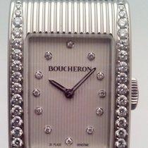 Boucheron Reflet Steel 18mm White No numerals