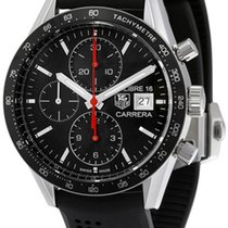 TAG Heuer Carrera Calibre 16 new 2019 Automatic Chronograph Watch with original box and original papers CV201AK.FT6040