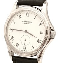 Patek Philippe Calatrava White gold 35mm Black
