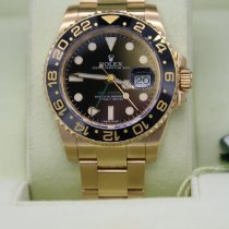 Rolex 116718LN Yellow gold 2013 GMT-Master II 40mm pre-owned Canada, Calgary