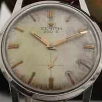 Zenith Steel 34mm Manual winding Ref. 220 S - Acciaio pre-owned