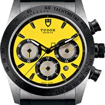 Tudor Fastrider Chrono new Automatic Chronograph Watch with original box M42010N-0007