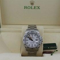 Rolex Explorer II nuevo Automático Reloj con estuche y documentos originales 216570-0001