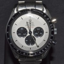 Omega Speedmaster Steel 42mm White No numerals