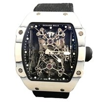 Richard Mille RM 027 Carbono 47,77mm Transparente Sin cifras