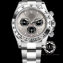 Rolex Daytona White gold 40mm Black Arabic numerals
