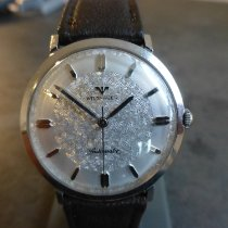 Wittnauer Steel Automatic Silver No numerals 38mm pre-owned