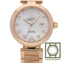 Omega De Ville Ladymatic Or rouge 34mm Nacre