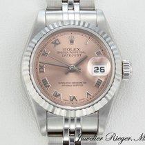 Rolex Lady-Datejust Or/Acier 26mm Rose Romain