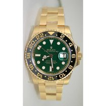 Rolex GMT Master II 116718 Ceramic Bezel and Green Dial...