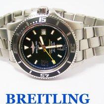 Breitling Mens SUPEROCEAN Automatic Chronometer Watch 2000m