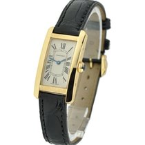 Cartier W2601556 Tank Americaine Small Size - Yellow Gold on...