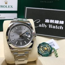 Rolex Cally - Datejust II 41mm 126300 dark rhodium dial