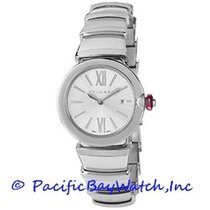 Bulgari Lucea Steel 28mm Silver Roman numerals United States of America, California, Newport Beach