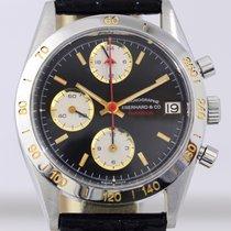 Eberhard & Co. Champion Chronograph Date Black Lemania...