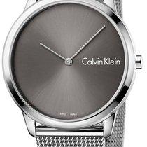 ck Calvin Klein Çelik 40mm Quartz K3M211Y3 yeni