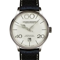 Alexander Shorokhoff 40mm Manual winding new White