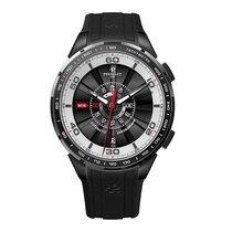 Perrelet Tourbine 47mm Date Automatic Chrono Mens Watch 1075/1
