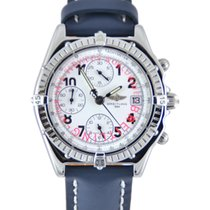 Breitling Chronomat Steel 40mm White Arabic numerals
