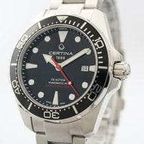 Certina DS Action Steel 43mm Black