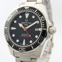 Certina new Automatic 43mm Steel Sapphire crystal