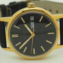 Omega Genève  Automatic Cal 1022 Day/Date Gold Plated 35mm Watch