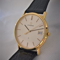 Eterna 14ct golden thin model, all original in mint condition