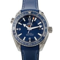 Omega Titanium Automatic Blue 43.5mm new Seamaster Planet Ocean