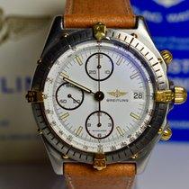 Breitling 81950 Gold/Steel 1987 Chronomat pre-owned
