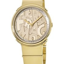 Salvatore Ferragamo Gold/Steel Quartz FFY050017 new United States of America, New York, Brooklyn
