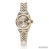 Rolex Lady-Datejust Gold/Steel 26mm Champagne Roman numerals United Kingdom, London