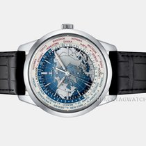 Jaeger-LeCoultre Geophysic Universal Time Steel 41.6mm Blue No numerals