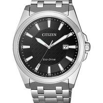 Citizen Stahl Quarz BM7108-81E neu