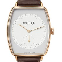 NOMOS Lux Rose gold 34mm Silver